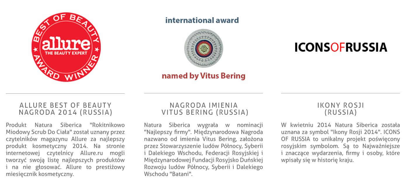 nagrody natura siberica